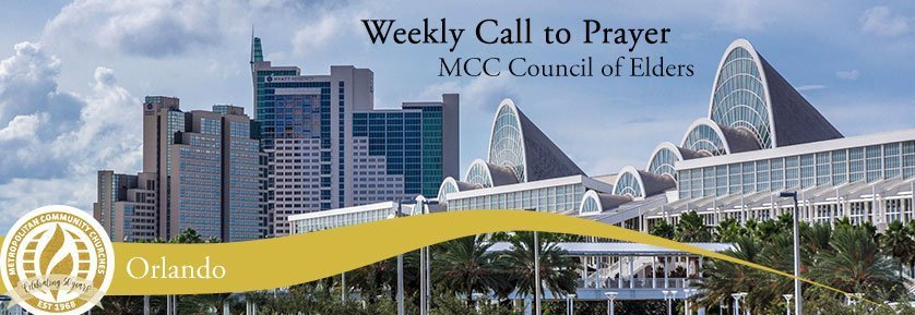 Weekly Call to Prayer - Orlando Conference Center