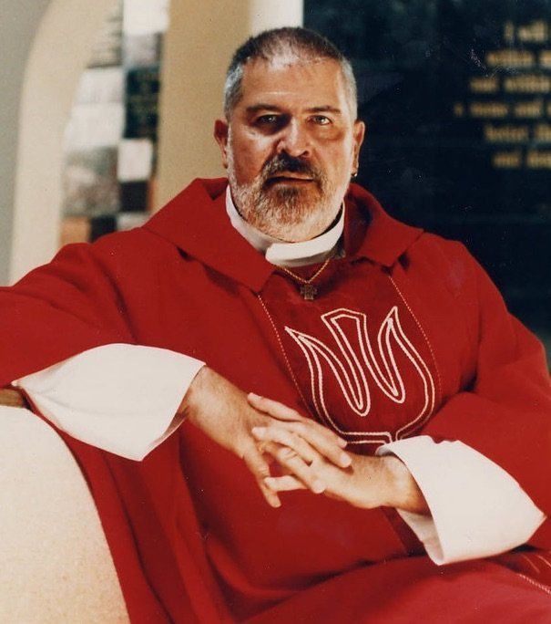 Rev. Elder Troy Perry, MCC's Founder, in Red Robes 2008