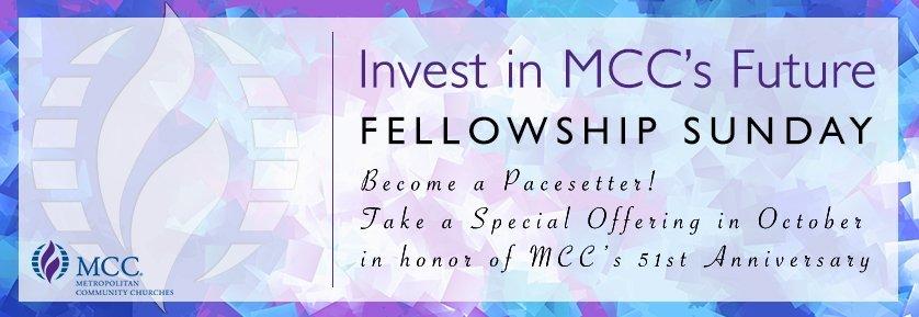 Celebrate MCC's 51st Anniversary