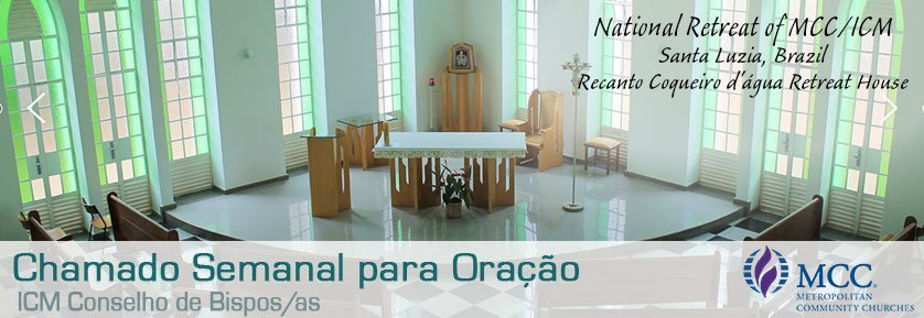 National retreat of MCC/ICM Santa Lucia, Brazil