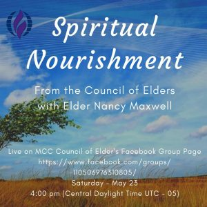 Spiritual Nourishment May 23 logo
