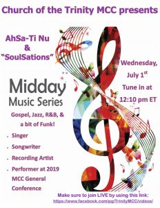 Music Heals All 1 July 2020