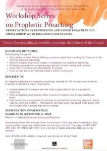 Prophetic Preaching Outline