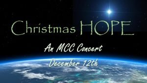 Christmas Hope Concert