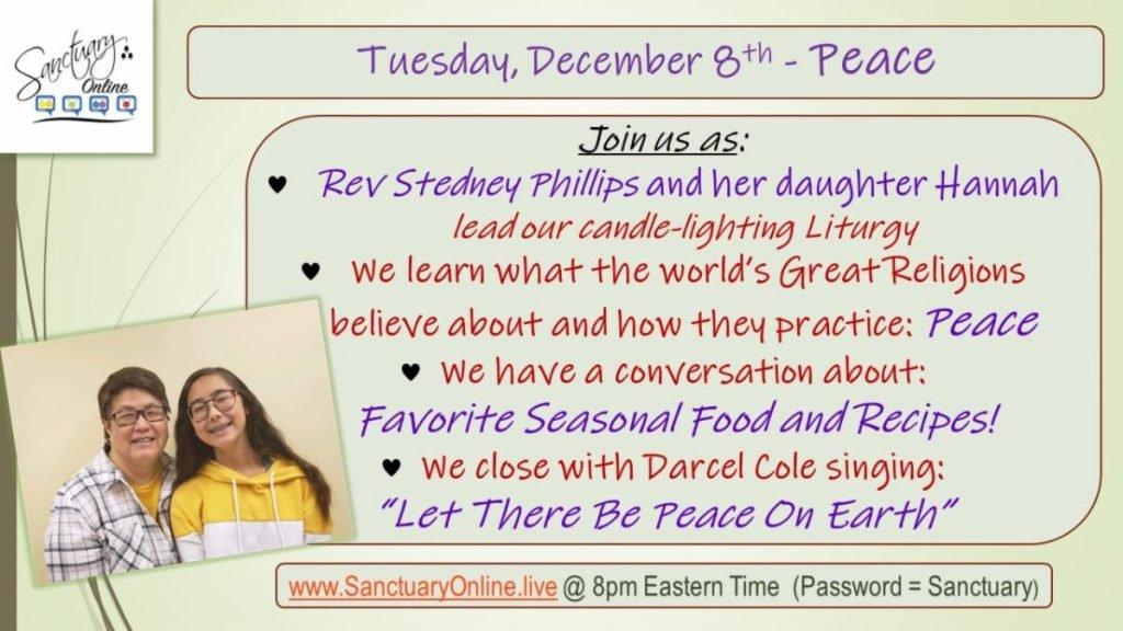 Sanctuary Online December 8