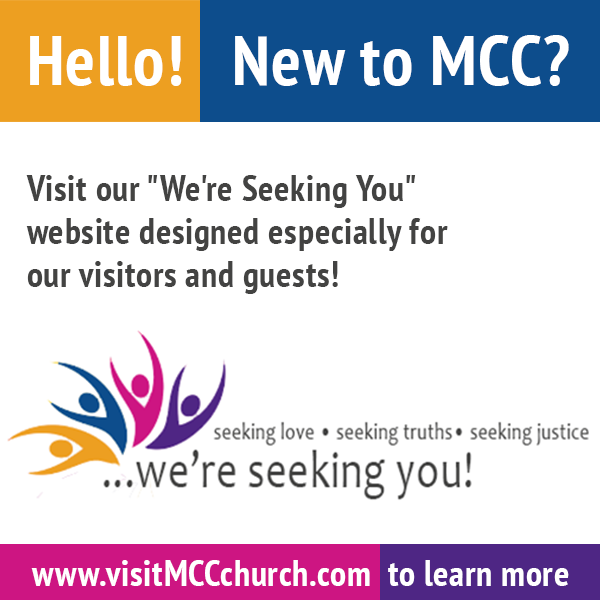 Visit the Were Seeking You website to learn about MCC
