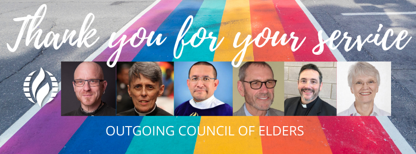 Outgoing Council of Elders
