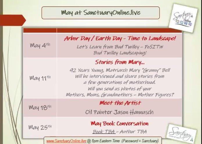 SanctuaryOnline May