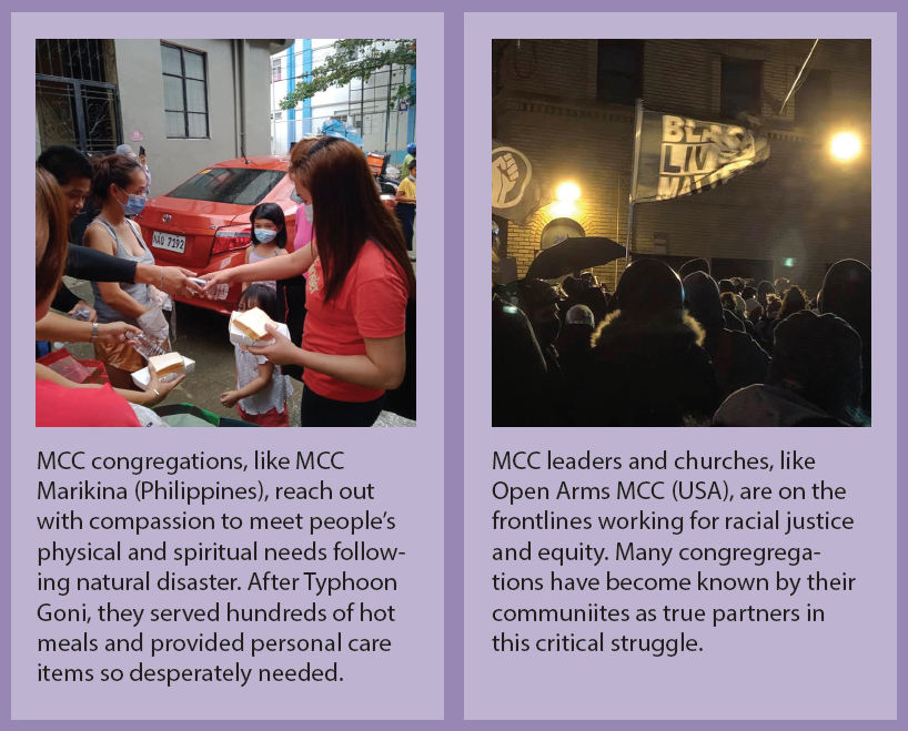 examples of MCC's life-changing ministries