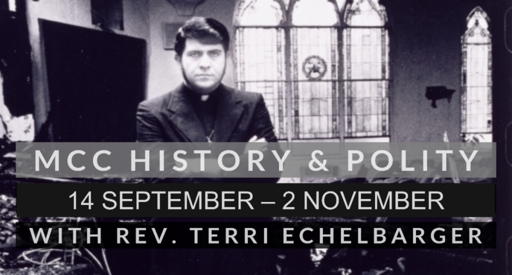 MCC Polity with Rev. Terri Echelbarger